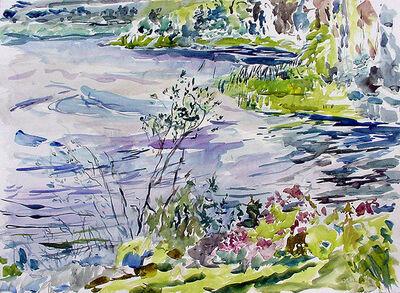 Rebecca Perehudoff, 'Grey Shoreline', 1991