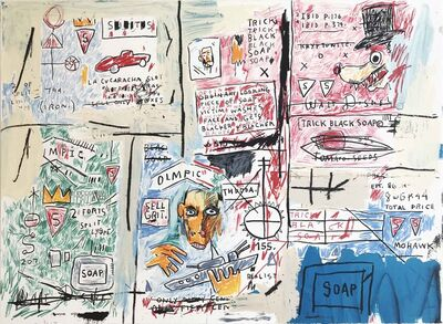 Jean-Michel Basquiat, 'Olympic', 1982-1983