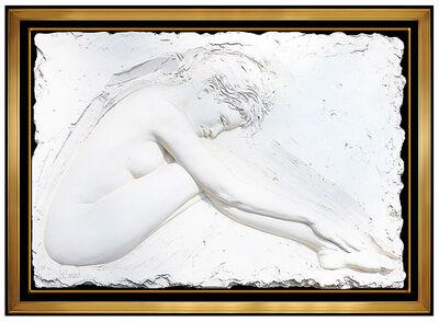 Bill Mack, 'Bill Mack Serenity Bonded Sand Nude Female Alto Relief Sculpture Signed Large', 1985