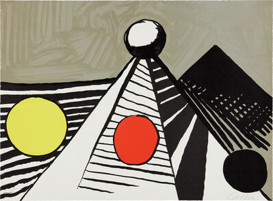 Alexander Calder, 'Le Bateau lavoir (The Laundry Boat)', 1969