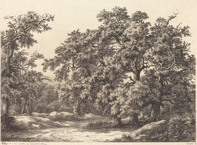 Eugène Bléry, 'Oaks', 1840