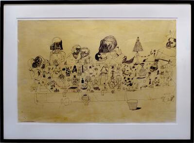 "Eddie Martinez, 'Study for ""The Feast""', 2010"