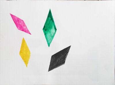 Klaas Vanhee, 'Untitled (four Colored Rhombus)', 2019