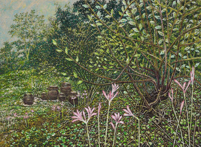 Rim Dong Sik, 'In the magic lily-blossom time', 2013