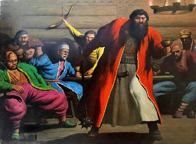 Robert Riggs, 'Mongols'