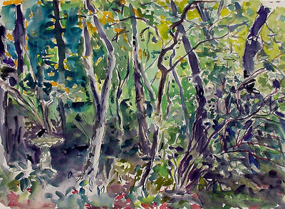 Rebecca Perehudoff, 'Cherry Trees', 1994