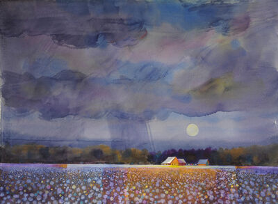 Gary Walters, 'Mississippi Evening Cotton', 2019