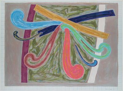 Frank Stella, 'Puerto Rican Blue Pigeon (from Exotic Bird Series)', 1977