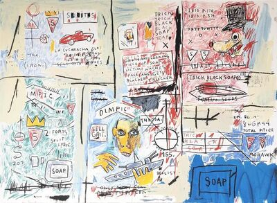 Jean-Michel Basquiat, 'Olympic', 1982