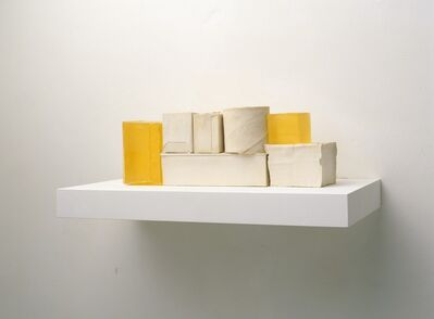 Rachel Whiteread, 'YELLOW MODEL', 2008