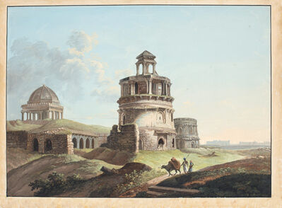 Anonymous, 'Ruins near Firoz Shah's Kotla', ca. 1830
