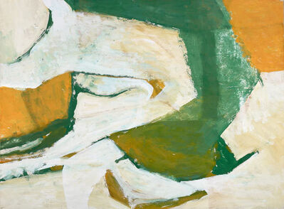 Charlotte Park, 'Untitled (Green, Yellow, and White)', ca. 1955