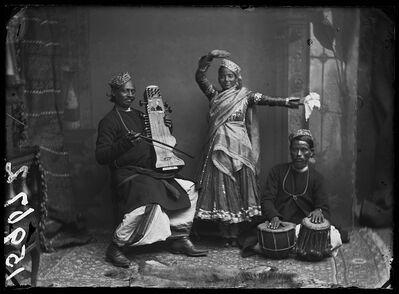 London Stereoscopic Co., 'Nautch Dancer And Musicians', 1885