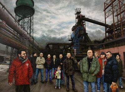 Julien Beneyton, 'L'acier Lorrain', 2013