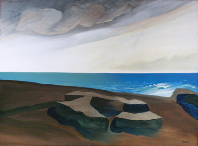 Toni Onley, 'Pacific Ocean', 1990