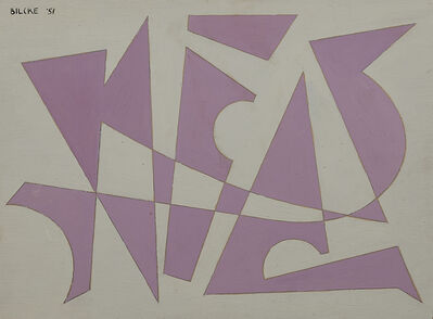 Maurits Bilcke, 'Composition'