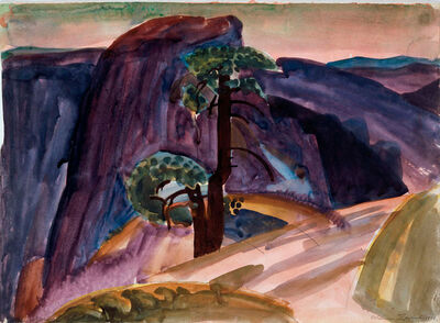 William Zorach, 'Half Dome, Yosemite', 1920
