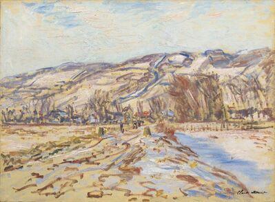 Claude Monet, 'Hiver à Giverny', 1886