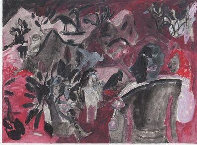 Anna Boghiguian, 'Untitled, Tagore-Indien', 2013-2014