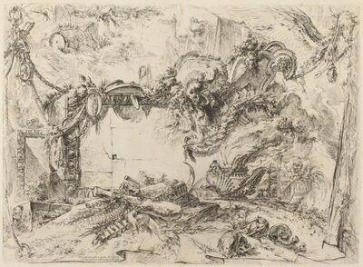 Giovanni Battista Piranesi, 'The Monumental Tablet', published 1750/1759