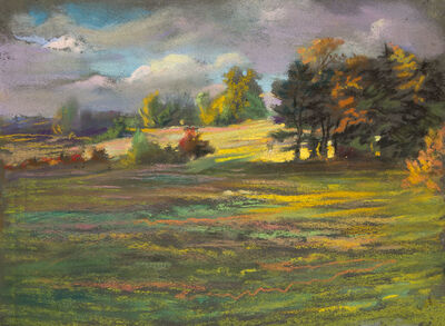William Partridge Burpee, 'FIELD AND TREES'