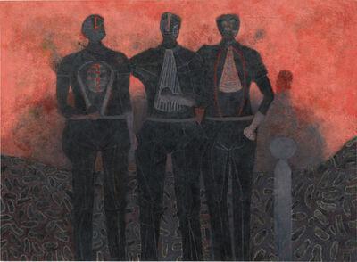 Rufino Tamayo, 'Tres amigos', 1987