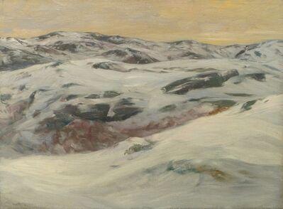 Charles Herbert Woodbury, 'Three Hills – Winter ', 1909