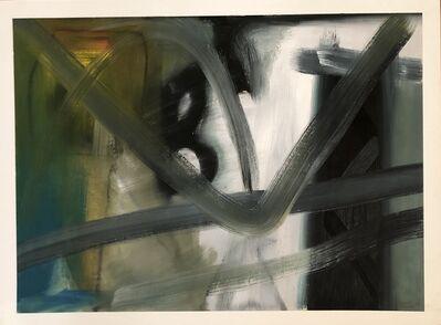 Samuel Iztueta, 'Abstract in Blue Green', 2019
