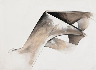 Jay DeFeo, 'Untitled, from the series Eternal Triangle ', 1980