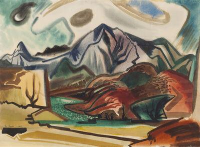 Ben Norris, 'Hawaiian Landscape Composition II', 1950