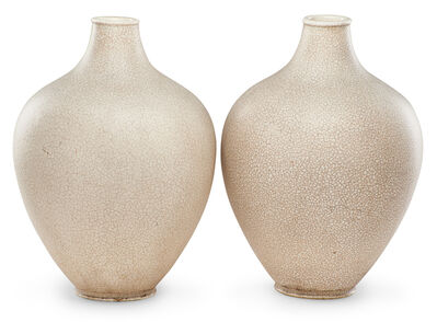 Primavera, 'Pair Of Primavera Art Deco Vases', 20th c.