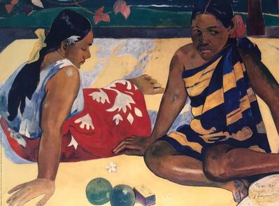 Paul Gauguin, 'Tahiti Girls', ca. 2000