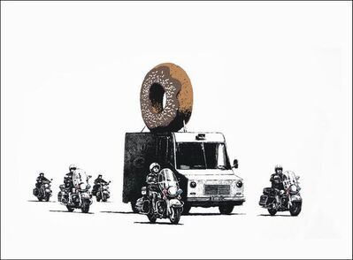 Banksy, 'Donuts (Chocolate)', 2007