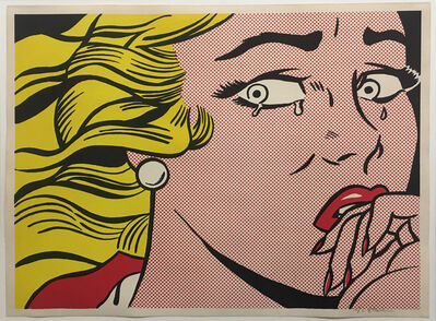 Roy Lichtenstein, 'Crying Girl', 1963