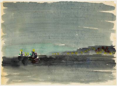 Eduard Bargheer, 'Blankenese bei Nacht ', ca. 1930