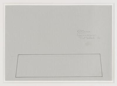 Fred Sandback, 'Untitled, Blue Floor Piece', 1970