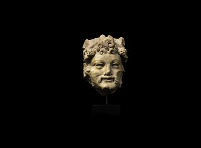 Antiquity, 'Head of a Satyr', ca. 2nd century A.D