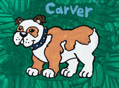 Yukari Sakura, 'Carver the Bulldog', 2013