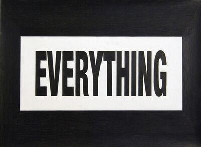 Joe Nanashe, 'Everything', 2009