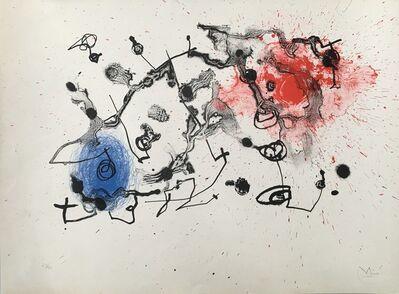 Joan Miró, 'Series II, blue and red ', 1961