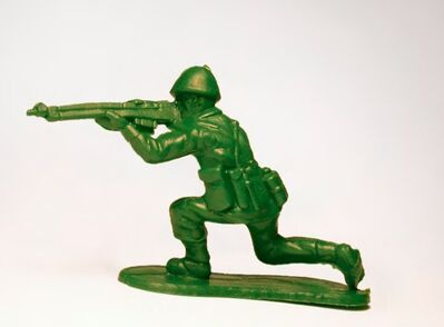 Yoram Wolberger, 'Toy Soldier #5 (Kneeling Position)', 2015