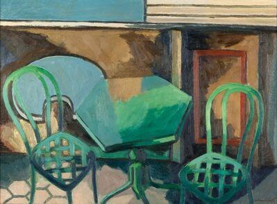 Dino Gambetti, 'Sulla terrazza'