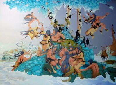 Rabbett Before Horses Strickland, 'Muzzu Kummi Quae (Mother Earth)', 2021