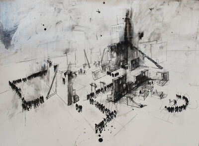 Gustavo Diaz Sosa, 'Serie Burocratas y padrinos', 2014