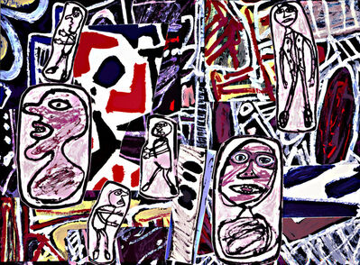 Jean Dubuffet, 'Faits Memorables I', 1978