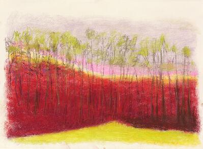 Wolf Kahn, 'Red Ridge', 2013