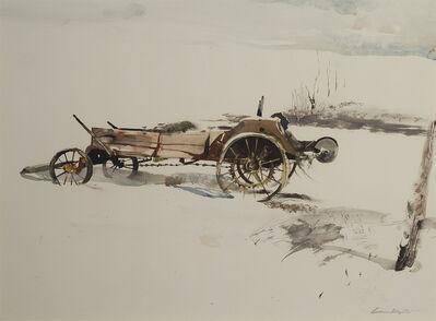 Andrew Wyeth, 'Farm Machinery ', 1956