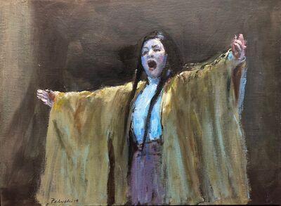 Leticia Feduchi, 'Aria IV', Oil on wood