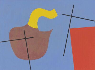 Sophie Taeuber-Arp, 'Forme organique, plan et croix (Organic form, plan and cross)', 1932
