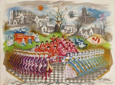Olga Lehmann, 'THE TWELVE DAYS OF CHRISTMAS AT SAMPFORD, ESSEX'